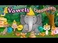 Children's: Vowels, Consonants, and Rhyming Words, ABC, Alphabet Songs, Phonics CVC words