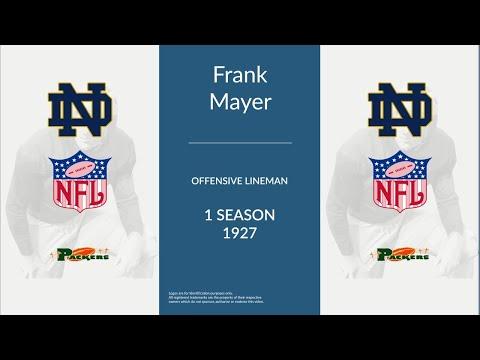 Frank Mayer: Football Offensive Lineman