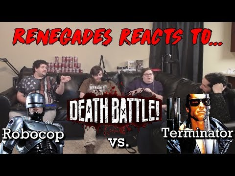 Renegades React To... Death Battle - Terminator Vs. Robocop