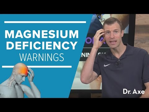 Magnesium Deficiency: 8 Warning Signs