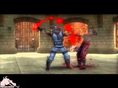 Mortal Kombat: Shaolin Monks Kano Boss Fatality