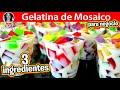 GELATINA DE MOSAICO CON 3 INGREDIENTES PARA NEGOCIO  | Vicky Receta Facil thumb
