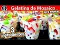 GELATINAS DE MOSAICO CON 3 INGREDIENTES PARA NEGOCIO  | #VickyRecetaFacil