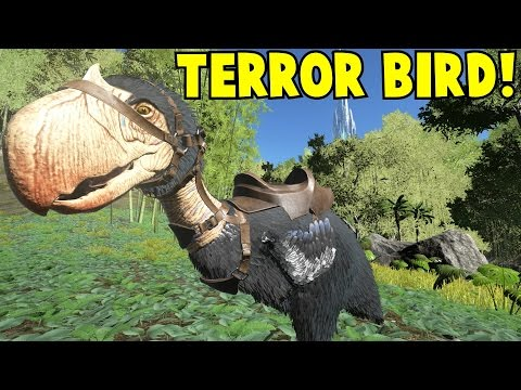 Ark Survival Evolved Terror Bird & Grapling Hook