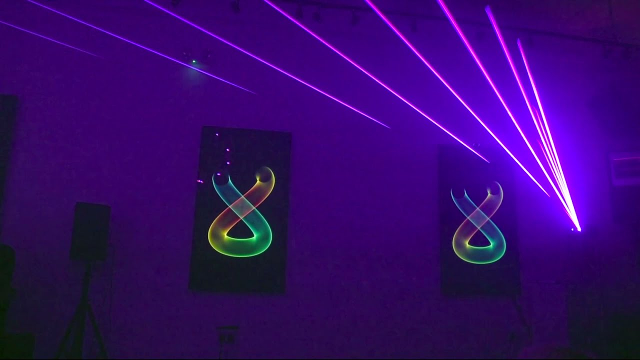 Crypto Art Music Laser Show - Luminescence trailer