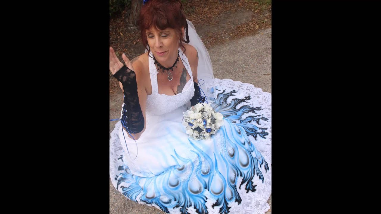The Most Bad Ass Wedding Dress Ever Youtube