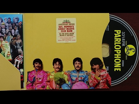 Unboxing Mexican #TheBeatles #SgtPepper50 Anniversary Edition Compact Disc