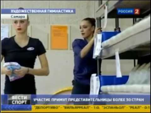 Evgenia Kanaeva-News Report-Russia Youth Championship, Samar
