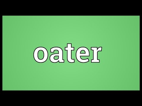 Header of oater