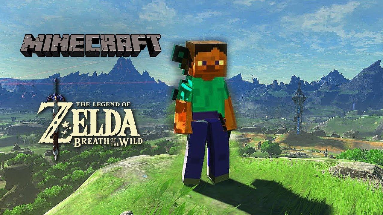 Minecraft breath of the wild skin