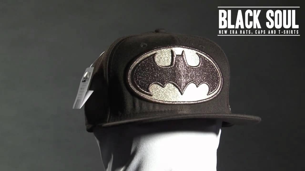 Boné New Era 5950 59Fifty aba reta DC Comics Batman - YouTube 24e2db77a41