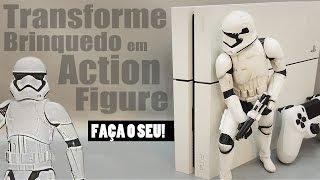 Transforme um Brinquedo do Star Wars em Action Figure