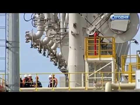 Открытие первой очереди комплекса в Усть-Луге