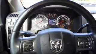 2012 Dodge Ram: reset oil change message