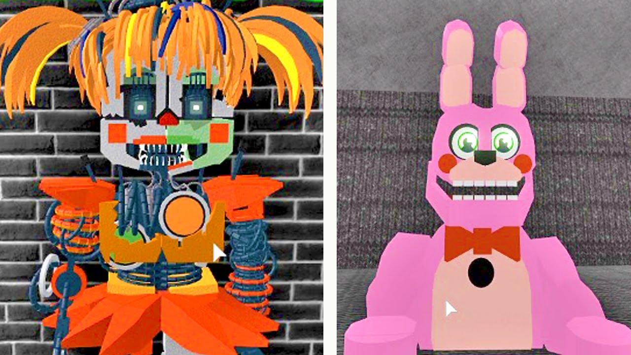 5 animatronics secretos escondidos no roblox circus baby s pizza