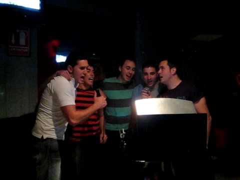 Chicos karaoke C.Real