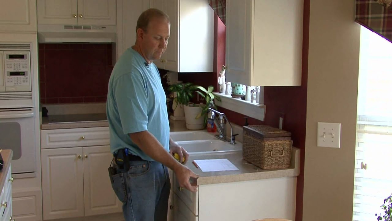 Attrayant Home Maintenance : How To Measure A Counter Top   YouTube