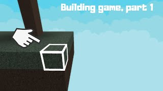 Roblox, How to make a building game Part 1