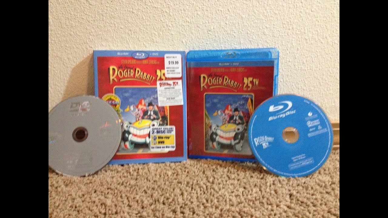 who framed roger rabbit blu ray unboxing