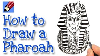 How to Draw Tutankhamen Real Easy