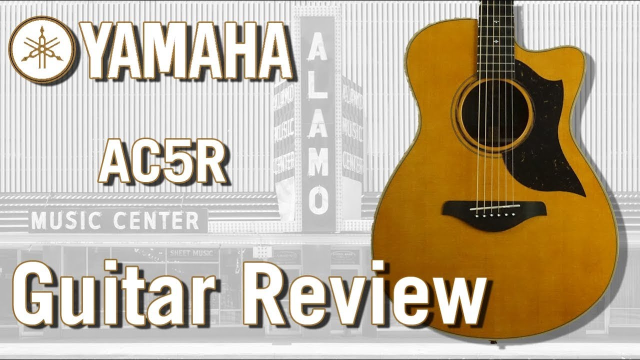 yamaha ac5r acoustic electric guitar review youtube. Black Bedroom Furniture Sets. Home Design Ideas