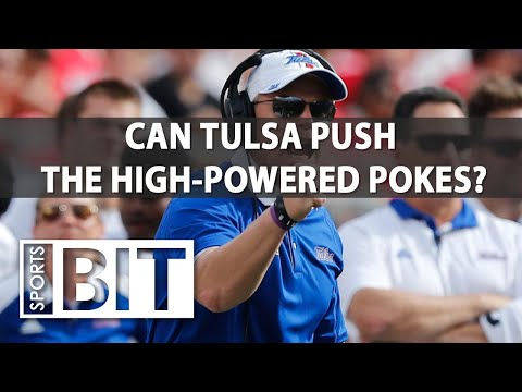 Tulsa Golden Hurricane at Oklahoma State Cowboys | Sports BIT | NCAAF Picks