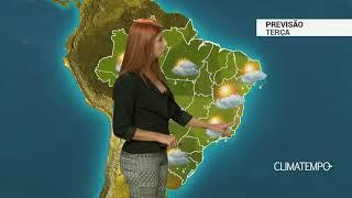 Previsão Brasil - Semana de temporais no BR