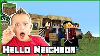 Hello Neighbor House in Minecraft