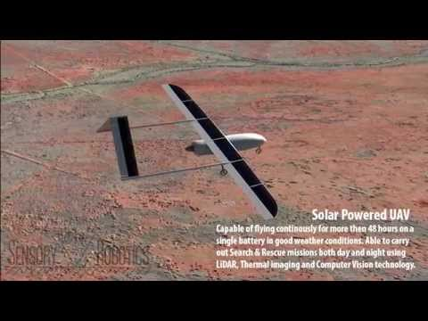 Sensory Robotics - Solar UAV for Search and Rescue