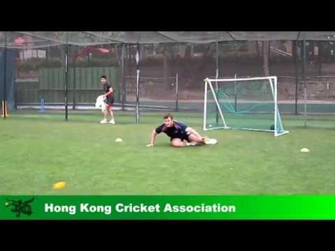 Hong Kong Skipper Jamie Atkinson practised hard as a wicketkeeper