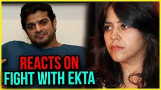 Karan Patel REACTS On FIGHT With Ekta Kapoor Because Of Bigg Boss 11 | TellyMasala
