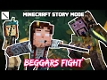 Beggars Fight! Jesse VS Ivor! Minecraft Story Mode (Beggar Theme)
