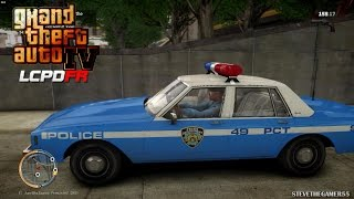 GTA 4 - LCPDFR - EPiSODE 48 - NYPD 80'S PATROL (NYPD 1980'S)