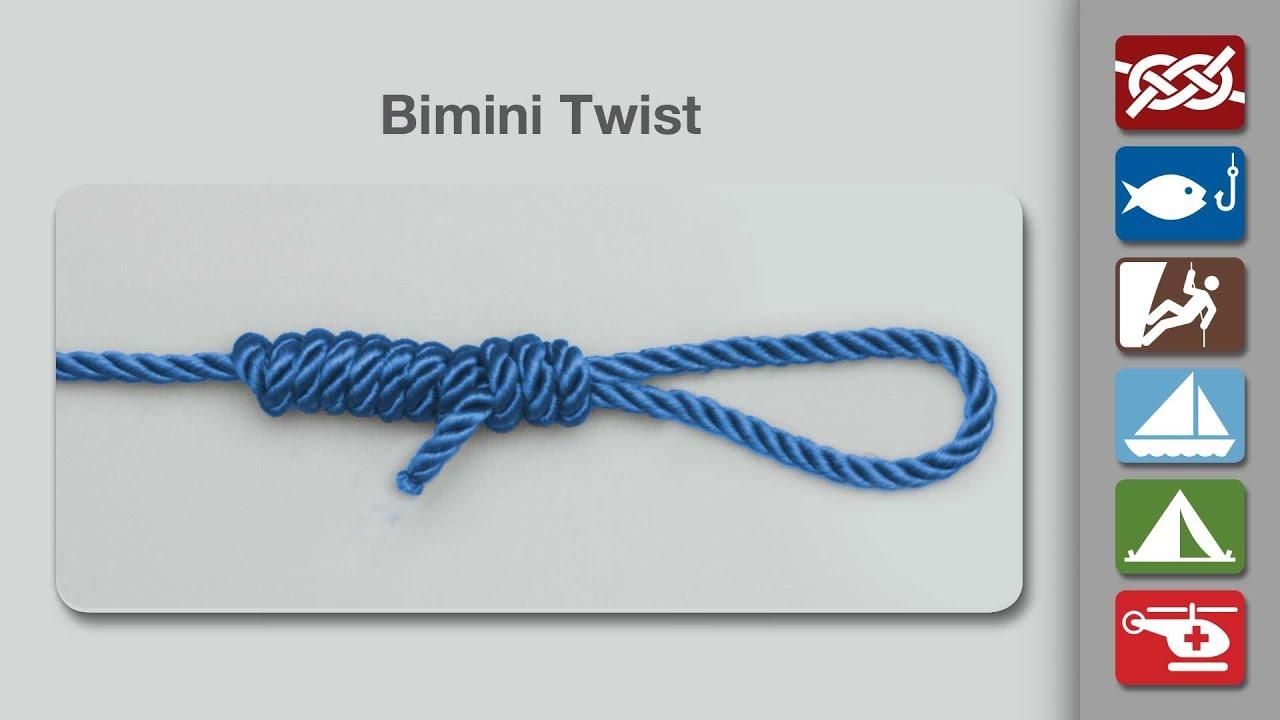 How to Tie a Bimini Twist
