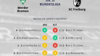 Previa Werder Bremen vs SC Freiburg Jornada 10 Bundesliga 2019 Pronósticos y horario