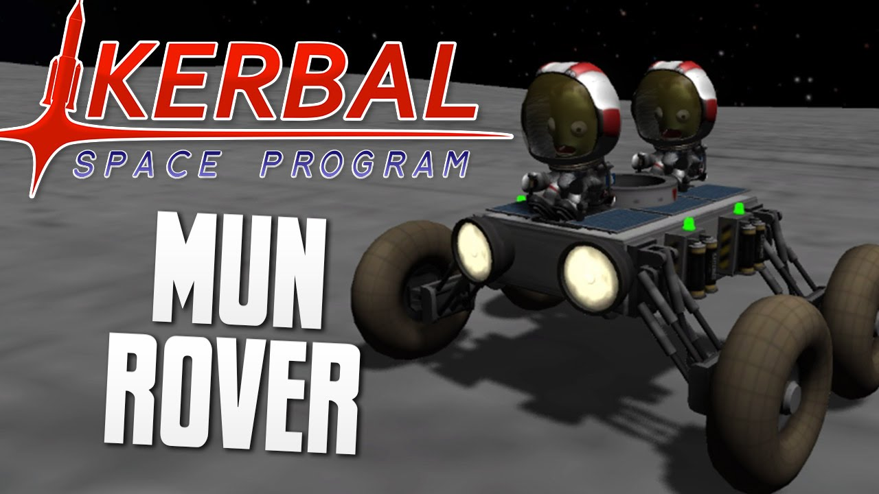 BUGGY THE MUN ROVER - Kerbal Space Program (KSP) - YouTube