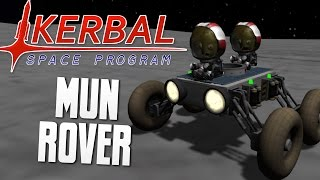 BUGGY THE MUN ROVER - Kerbal Space Program (KSP)