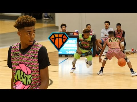9th Grader Katrell 'KT' Raimey Is Jamal Crawford Smooth With The Rock!! | MSHTV Camp Mixtape