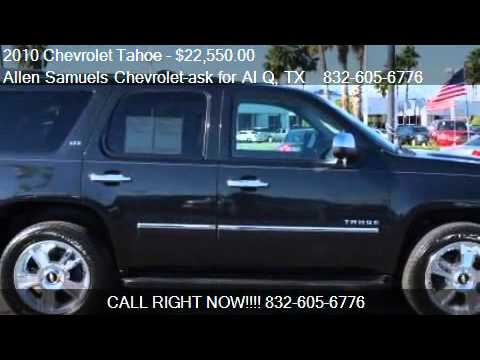 High Quality 2010 Chevrolet Tahoe LTZ   For Sale In Houston, TX 77074