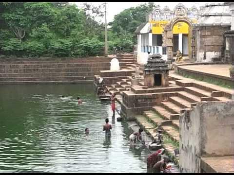 Temple pond in Kedareswar Temple, Bhubaneshwara in Orissa