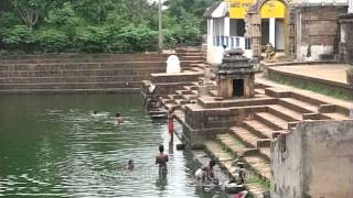 Temple pond in Kedareswar Temple, Bhubaneshwara in Orissa