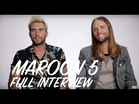 Maroon 5 Interview