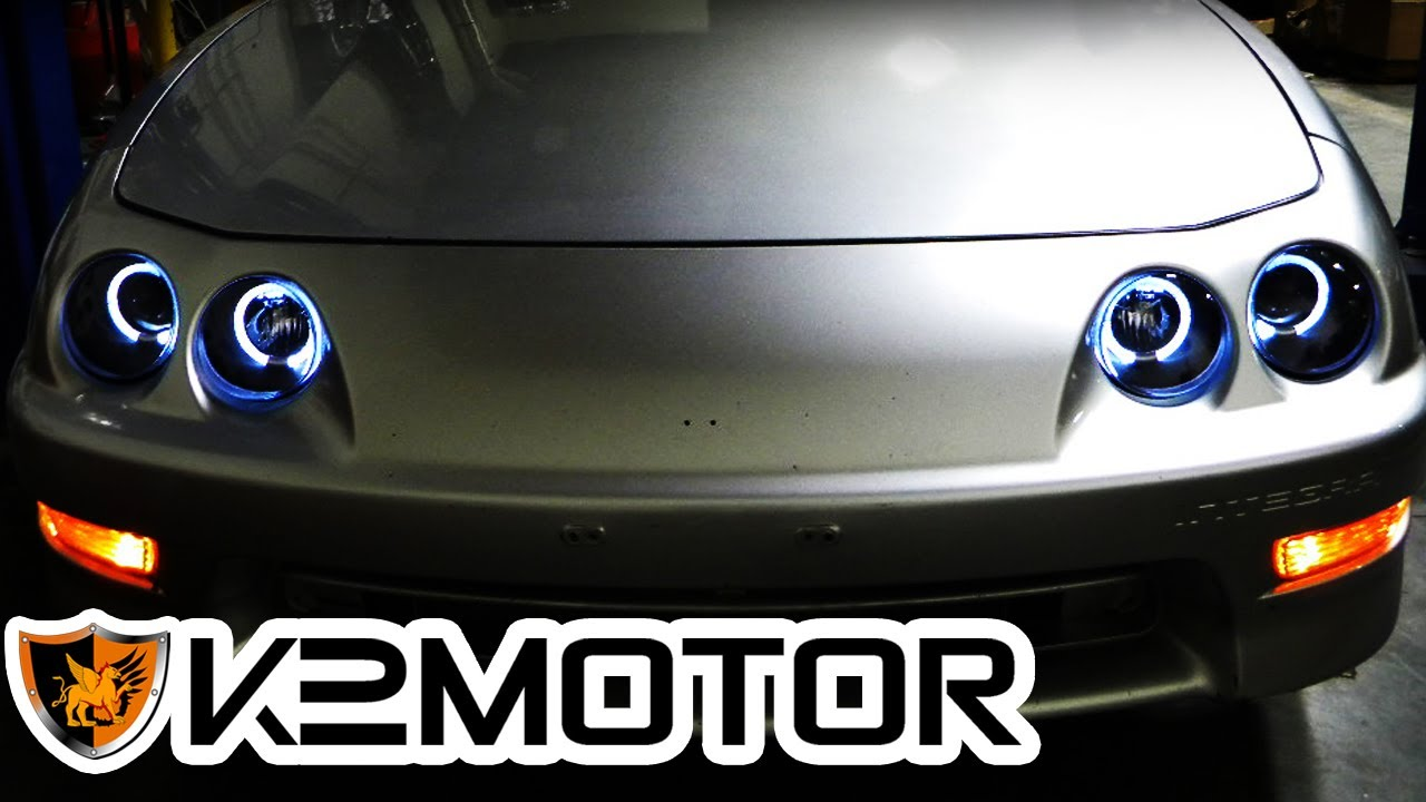 K2 MOTOR INSTALLATION VIDEO: 1994-2001 ACURA INTEGRA HALO PROJECTOR