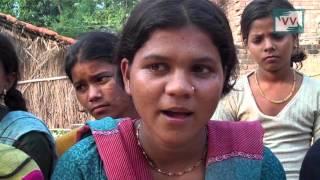 Girls taking bath in open area -Anita Bharti reports for IndiaUnheard