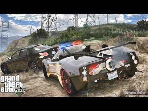 GTA 5 MODS LSPDFR 857 - PAGANI ZONDA PATROL!!! (GTA 5 REAL LIFE PC MOD)