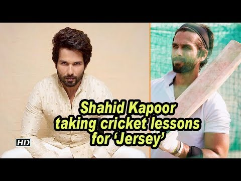 Shahid Kapoor taking cricket lessons for 'Jersey' Mp3