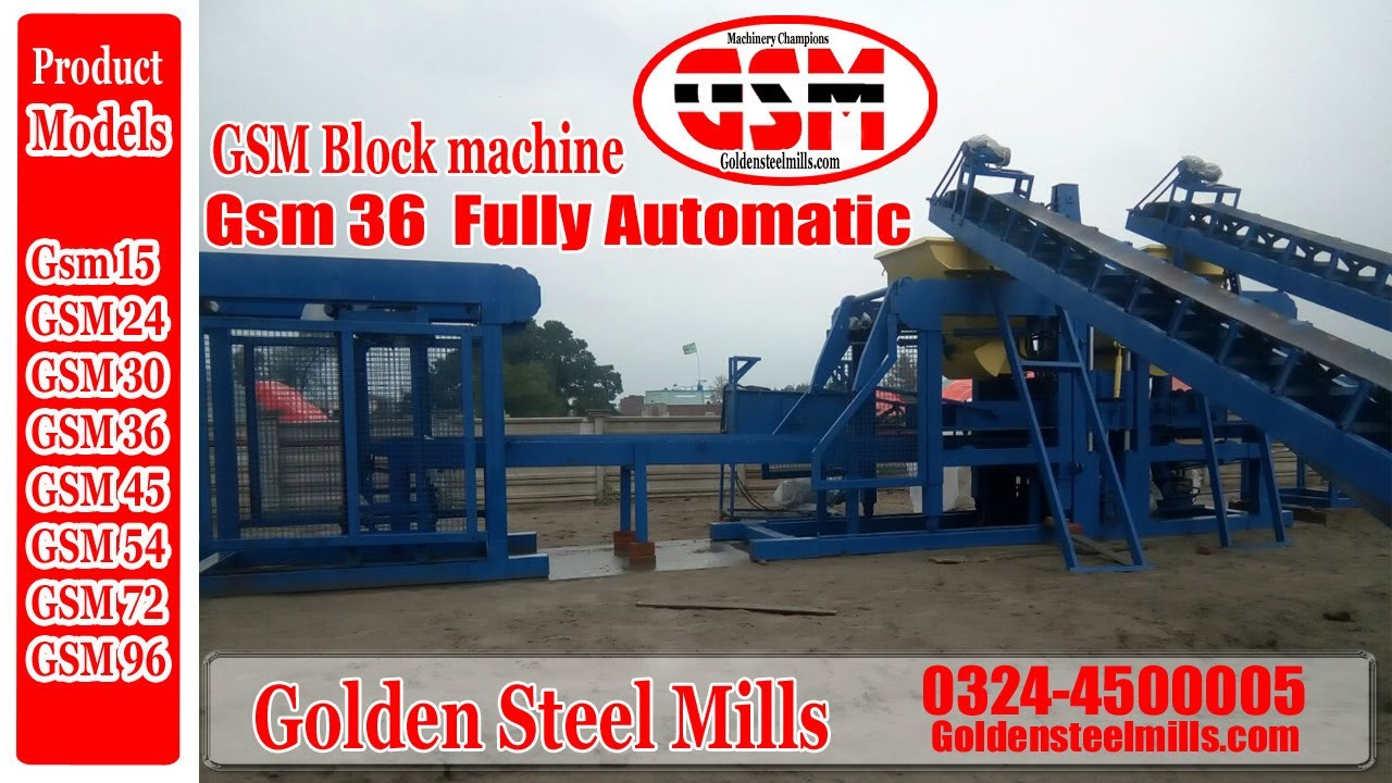 Block Making Machine Price In Pakistan Biggest Block