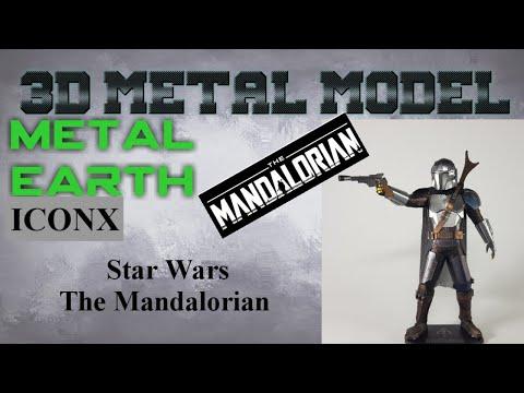 Metal Earth ICONX/Premium Series Build - Star Wars The Mandalorian