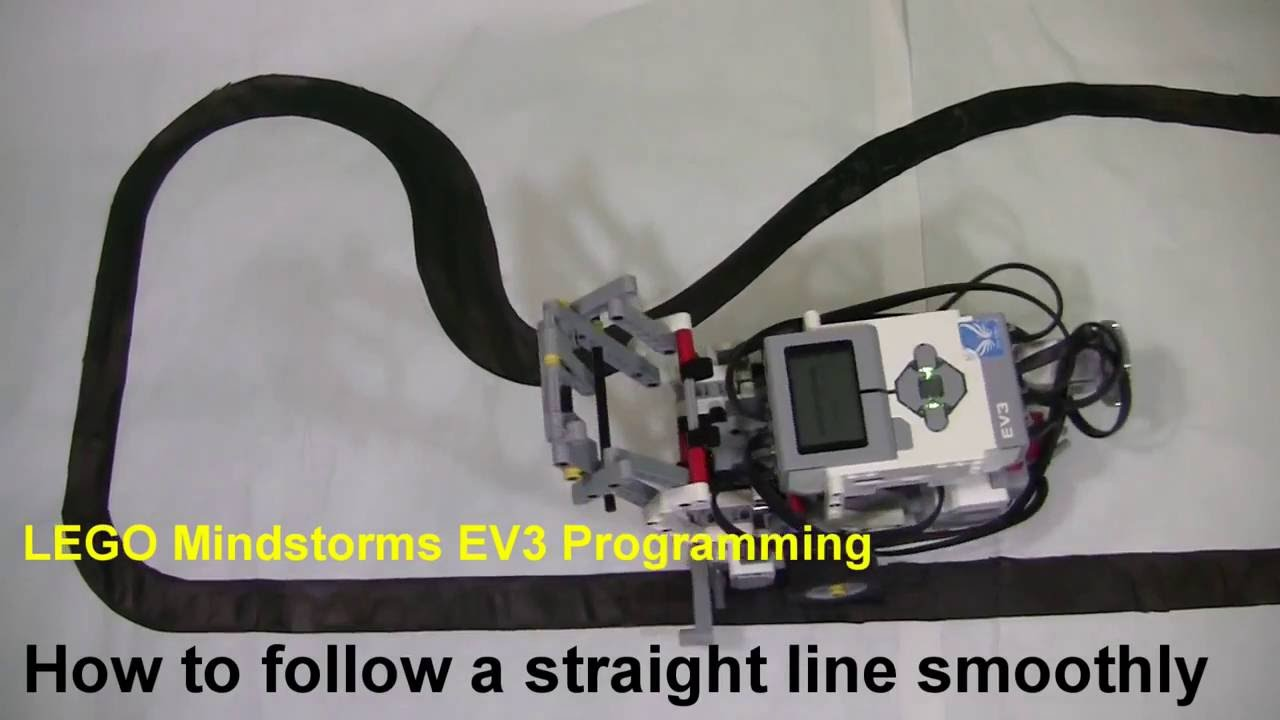 how to make ev3 follow a line