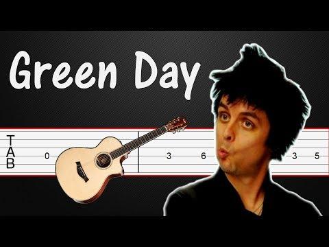 21 Guns - Green Day Guitar Tabs, Guitar Tutorial (+ Bass guitar)